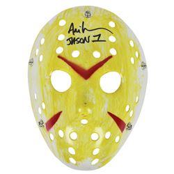 "Ari Lehman Signed ""Friday the 13th"" Mask Inscribed ""Jason 1"" (Beckett COA)"