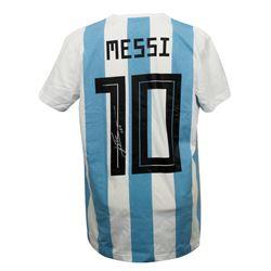 Lionel Messi Signed Argentina Adidas Jersey (Messi COA)