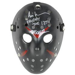 "Ari Lehman Signed ""Friday the 13th"" Mask Inscribed ""Friday The 13th""  ""Jason 1"" (Beckett COA)"