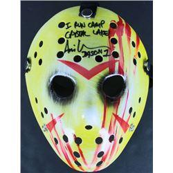 "Ari Lehman Signed ""Friday the 13th"" Mask Inscribed ""I Run Camp Crystal Lake!""  ""Jason 1"" (Beckett CO"
