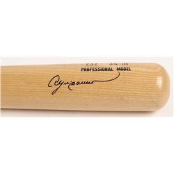 Andre Dawson Signed Rawlings Adirondack Pro Baseball Bat (JSA COA)