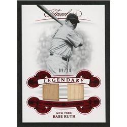 Babe Ruth 2019 Panini Flawless Legendary Dual Materials #1