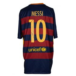 Lionel Messi Signed Barcelona Nike Jersey (Messi COA)