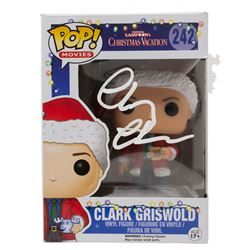 """Chevy Chase Signed """"National Lampoon's Christmas Vacation"""" #242 Funko Pop! Vinyl Figure (Beckett COA"""