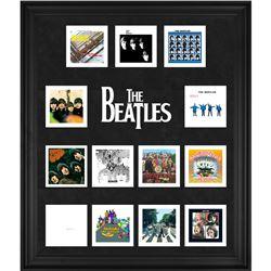 The Beatles 20x24 Custom Framed Album Collage Display