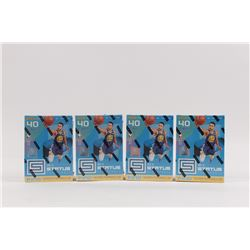 Lot of (4) 2018-19 Panini Status Basketball Retail Boxes of (40) Cards Each