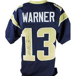 Kurt Warner Signed Jersey (PSA COA)