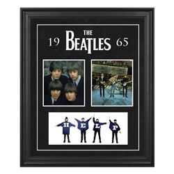 The Beatles 1965 20x27 Custom Framed Photo Collage Display
