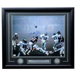 "Randall Cunningham Signed Eagles 1988 ""Fog Bowl"" 22x27 Custom Framed Photo Display (JSA COA)"