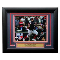 Howie Kendrick Signed Nationals 2019 World Series 11x14 Custom Framed Photo Display (JSA COA)