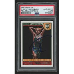 Giannis Antetokounmpo Signed 2013-14 Hoops #275 RC (PSA Encapsulated)