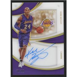 Kobe Bryant 2018-19 Immaculate Collection Shadowbox Signatures #21