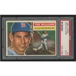 Ted Williams 1956 Topps #5 (PSA 5)