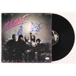 """Ann Wilson  Nancy Wilson Signed Heart """"Passionworks"""" Vinyl Record Album (JSA COA)"""