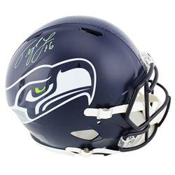 Tyler Lockett Signed Seahawks Full-Size Authentic On-Field Speed Helmet (Radtke COA)