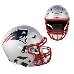 Tom Brady Signed Patriots Full-Size Authentic On-Field SpeedFlex Helmet (TriStar Hologram)