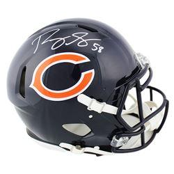 Roquan Smith Signed Bears Full-Size Authentic On-Field Speed Helmet (Radtke COA)
