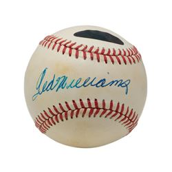 Ted Williams Signed OAL Baseball (PSA Hologram  Williams Hologram)