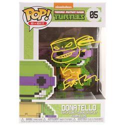 "Kevin Eastman Signed TMNT ""Donatello"" #05 8-Bit Funko POP! Vinyl Figure with Hand-Drawn Sketch (PA C"