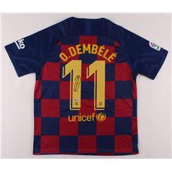 Ousmane Dembele Signed FC Barcelona Jersey (Beckett COA)