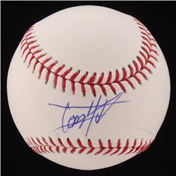 Tom Holland Signed OML Baseball (PSA Hologram)
