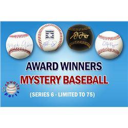 Schwartz Sports Baseball Award Winner Baseball Mystery Box - Series 6 (Limited to 75)