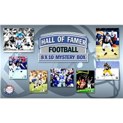 Schwartz Sports Football Hall of Famers Signed Mystery Box 8x10 Photo Series 8 (Limited to 100) - **