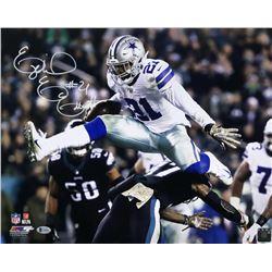 Ezekiel Elliott Signed Cowboys 16x20 Photo (Beckett COA)