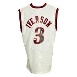 Allen Iverson Signed 2000-01 76ers Mitchell  Ness Jersey (JSA COA)