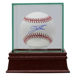 Jim Thome Signed OML Baseball with High-Quality Display Case (JSA COA)