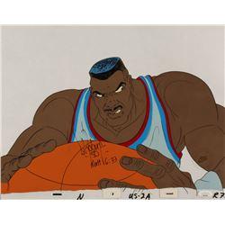 David Robinson Signed 1992 Dream Team USA Nike Commercial 13x17 Original Animation Production Cel (J
