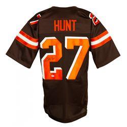 Kareem Hunt Signed Jersey (PSA COA)