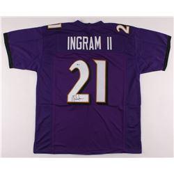 Mark Ingram ll Signed Jersey (Beckett COA)