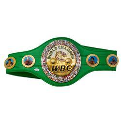 Floyd Mayweather Jr. Signed Full-Size WBC Heavyweight Championship Belt (JSA COA)