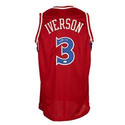 Allen Iverson Signed Jersey (JSA COA)