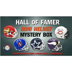 Schwartz Sports Football Hall of Famer Signed Mini Helmet Mystery Box - Series 6 (Limited to 100)