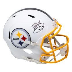 Minkah Fitzpatrick Signed Steelers Full-Size Matte White Speed Helmet (Beckett COA)