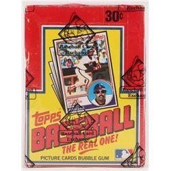 1983 Topps Baseball Wax Box (BBCE Certified)