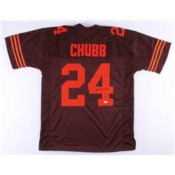 Nick Chubb Signed Jersey (JSA COA)
