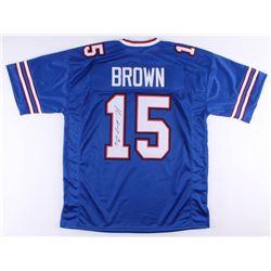"""John """"Smokey"""" Brown Signed Jersey (JSA COA)"""