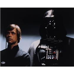 """David Prowse Signed """"Star Wars: The Empire Strikes Back"""" 16x20 Photo Inscribed """"Darth Vader"""" (Becket"""