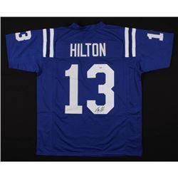 T. Y. Hilton Signed Jersey (PSA COA)