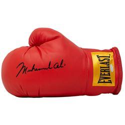 Muhammad Ali Signed Everlast Boxing Glove (Steiner COA)