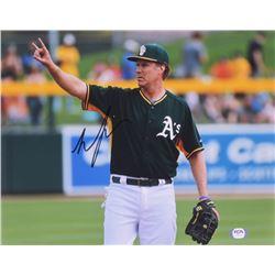 Will Ferrell Signed Athletics 11x14 Photo (PSA COA)