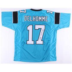 Jake Delhomme Signed Jersey (JSA COA)