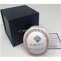 Anthony Rendon Signed 2019 World Series Baseball Inscribed  19 WS Champs  (Fanatics Hologram)