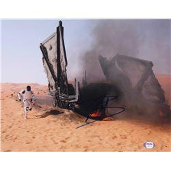 "John Boyega Signed ""Star Wars: The Force Awakens"" 11x14 Photo (PSA COA)"