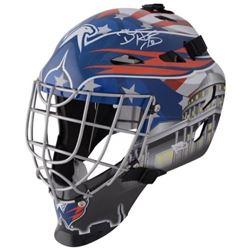 Braden Holtby Signed Capitals Full-Size Goalie Mask (Fanatics Hologram)