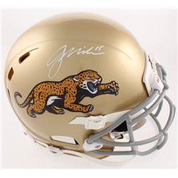Gardner Minshew Signed Jaguars Full-Size Helmet (Beckett COA)