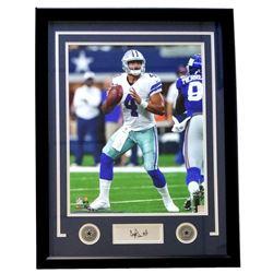 Dak Prescott Cowboys 22x27 Custom Framed Photo Display